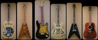 Guitares Patrick Querleux