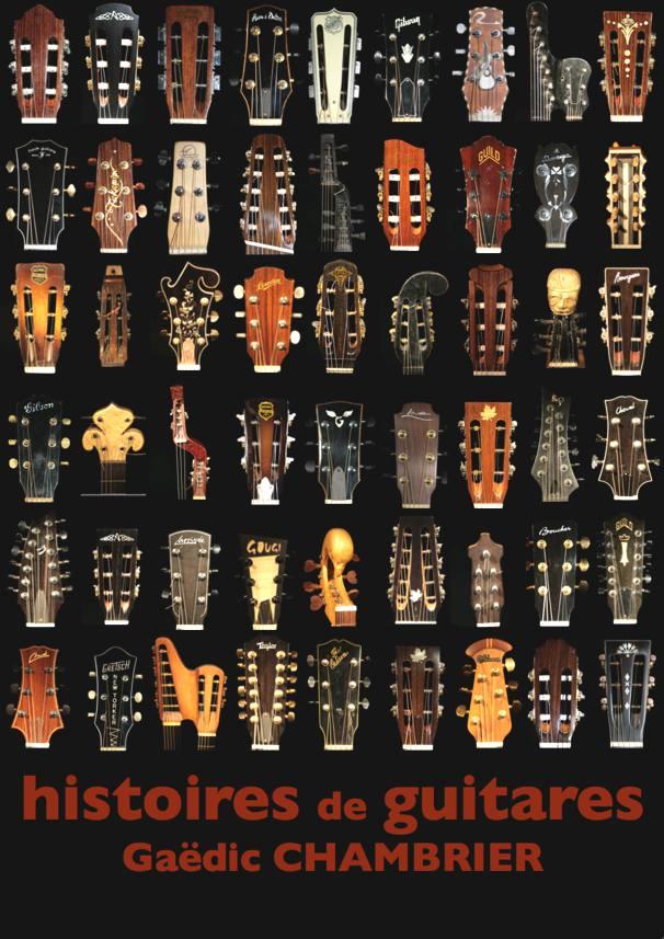 Poster Histoires de Guitares de Gaëdic Chambrier