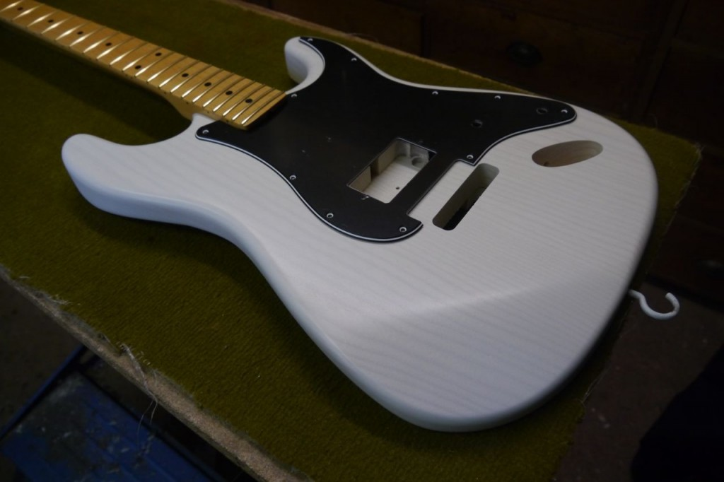 Projet FrankenStrat - Luthier Patrick Querleux luthier - Corps EG Solidbody