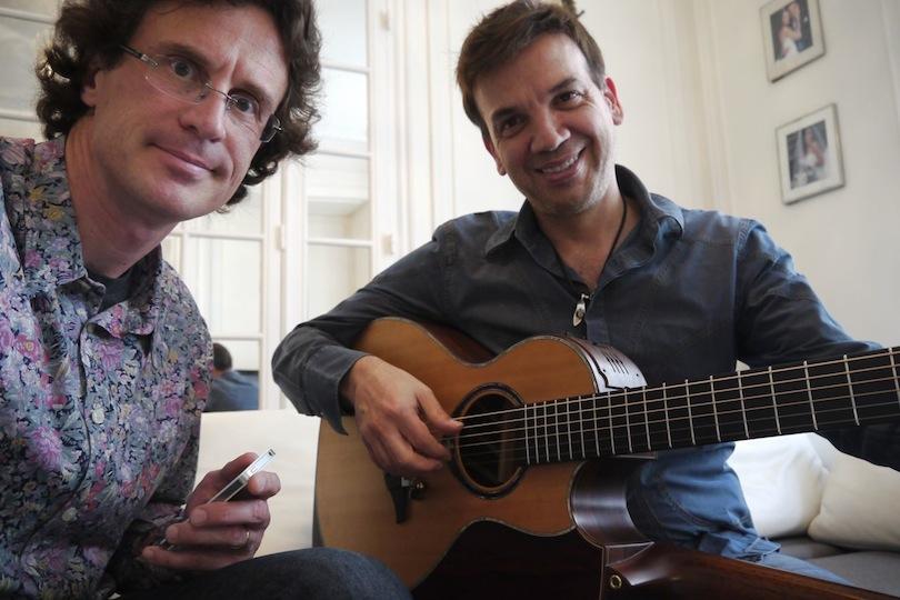 Jean-Félix Lalanne et Pierre Journel