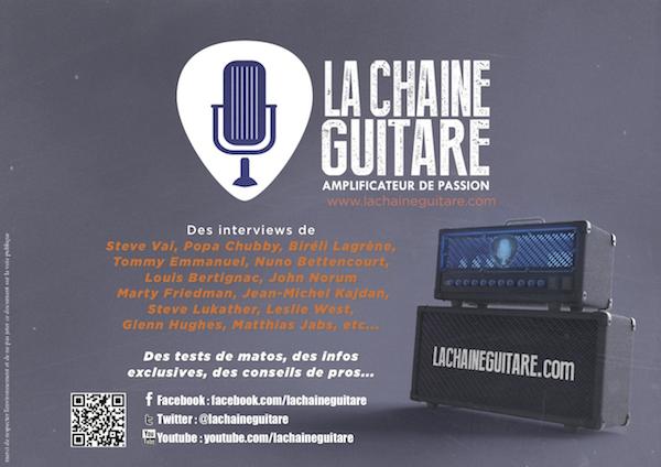 Flyer La Chaîne Guitare