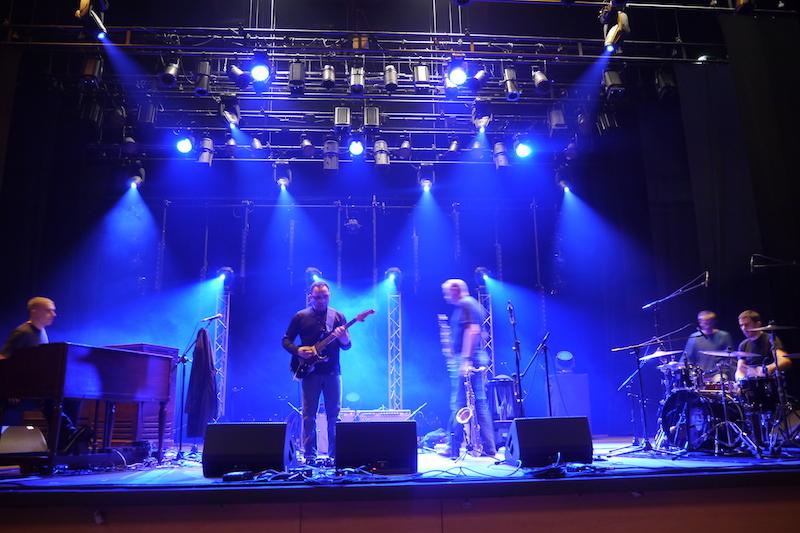 Biréli Lagrène Quartet durant la balance à Issoudun 2013