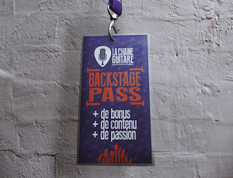 Pass Backstage de La Chaîne Guitare