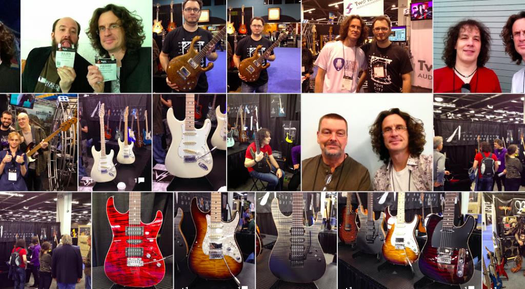 Mosaique NAMM 2015 - La Chaîne Guitare