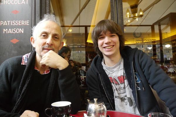 Fabien Mornet et François Bodin de la Nouvelle Star