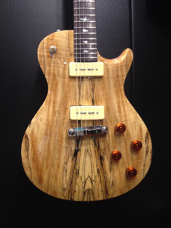 PRS spalted maple - Musikmesse 2014