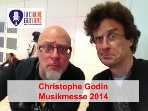 Christophe Godin, interview glace-au-charbon au Musikmesse