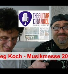 L'immense Greg Koch en interview vidéo au Musikmesse 2014