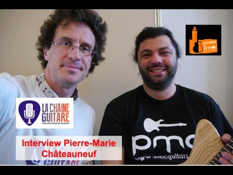 Interview du luthier Pierre-Marie Châteauneuf (@ChateauneufPM)