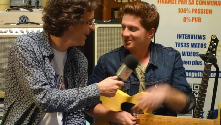 Interview Etienne Prieuret - Soirée VIP #1 chez @GuitarsAddicts