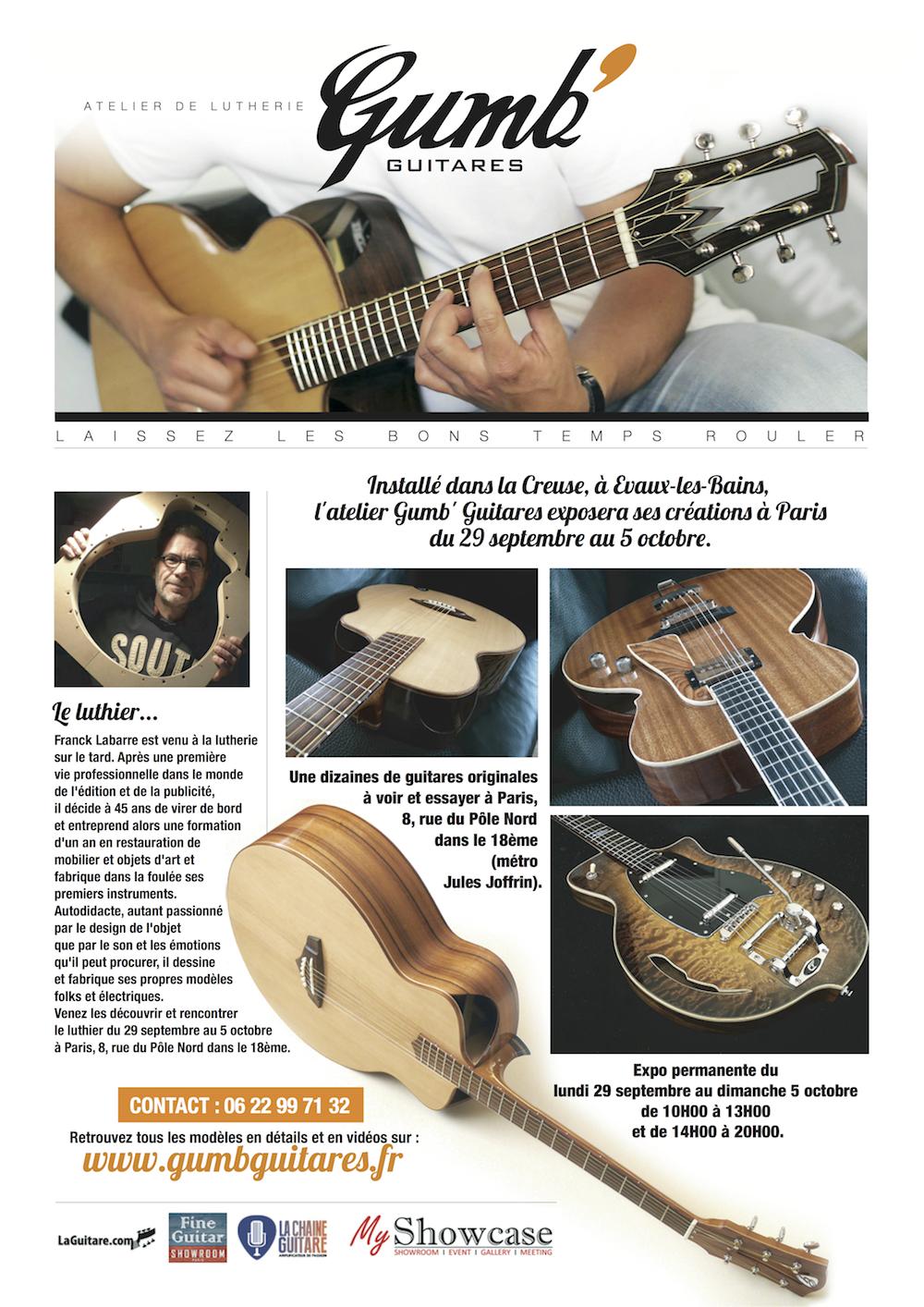 Presentation Gumb' Guitares