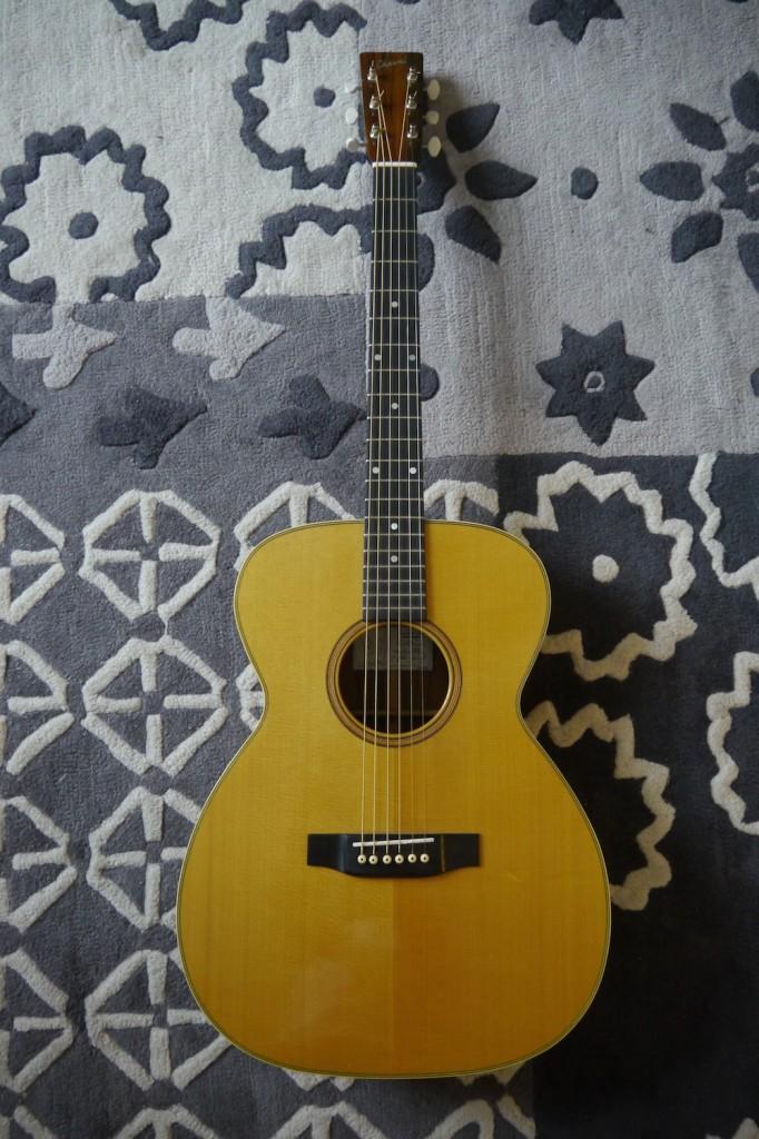 Guitare OM du luthier Franck Cheval de Gaëdic Chambrier