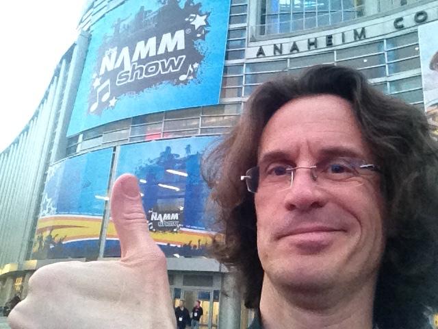 Selfie NAMM Pierre Journel