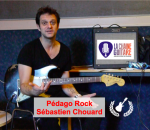 Pédago guitare Rock par Sébastien Chouard