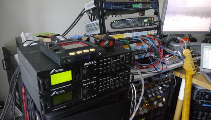 Visite de Matos : utilisation du Axe-FX II par Nguyên Lê