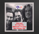 Interview Chouard et Sauviat, guitaristes des County Jels