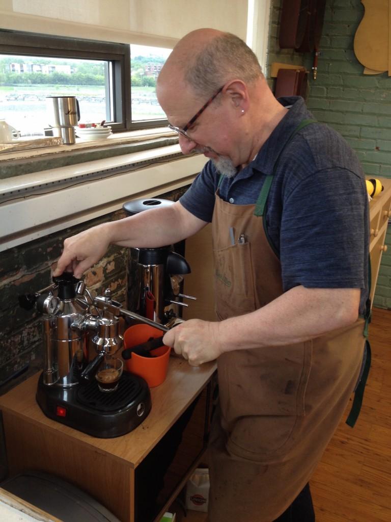 Le café de Michael Greenfield