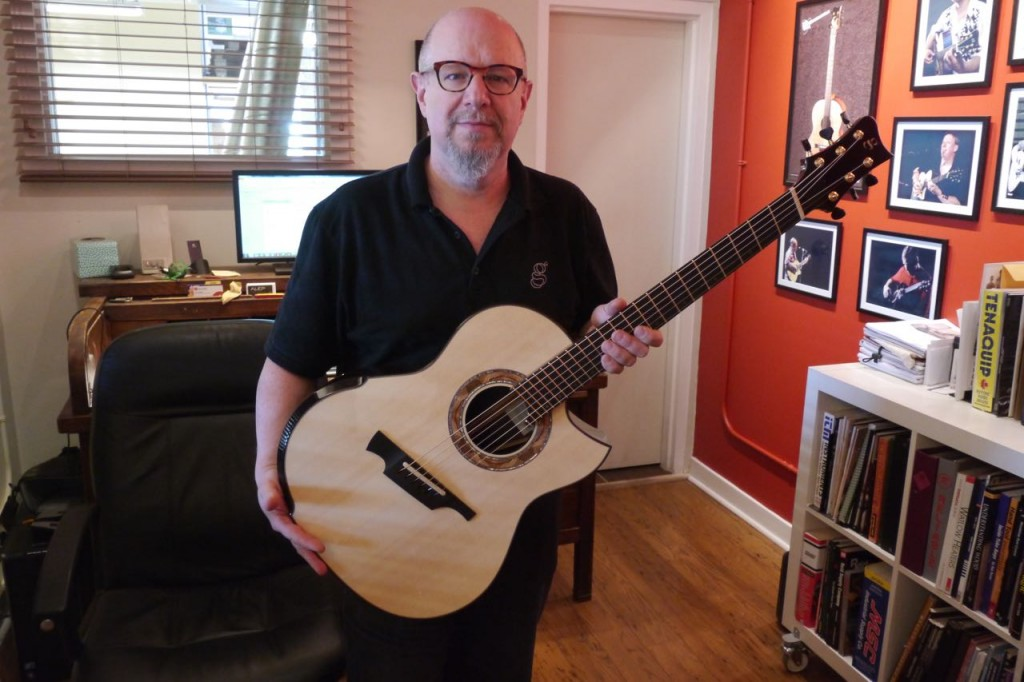 Michael Greenfield - Luthier Guitare