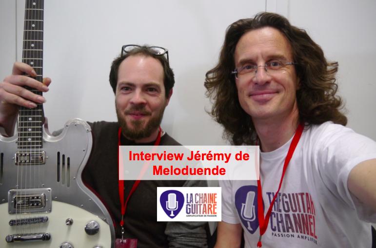 Interview Meloduende à Guitares au Beffroi 2015