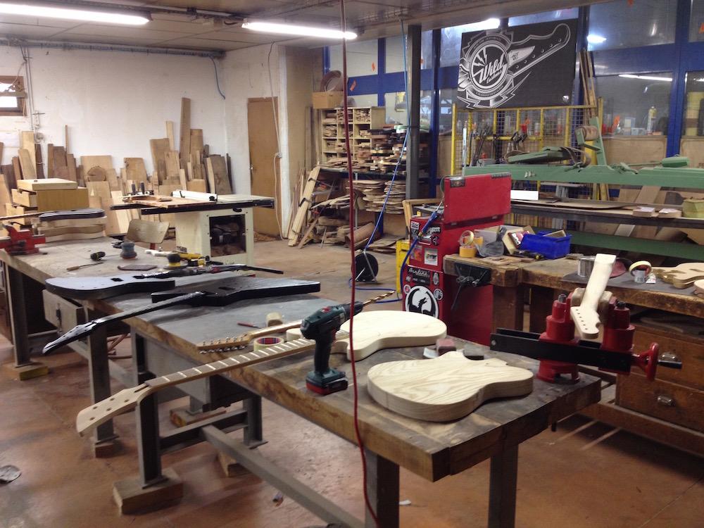 Atelier de lutherie de Wild Custom
