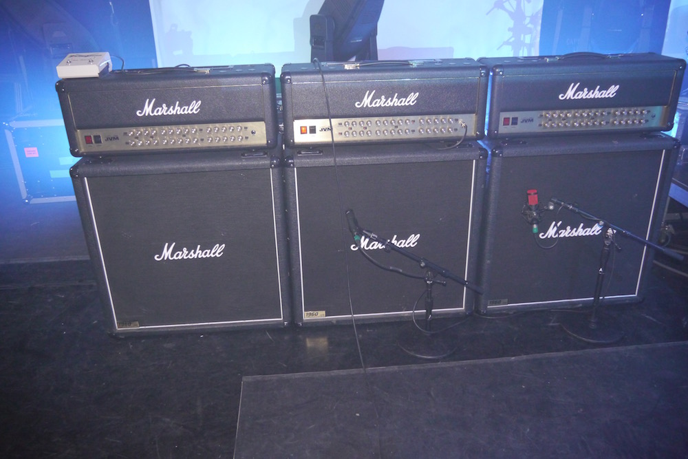 Joe Satriani Marshall amps
