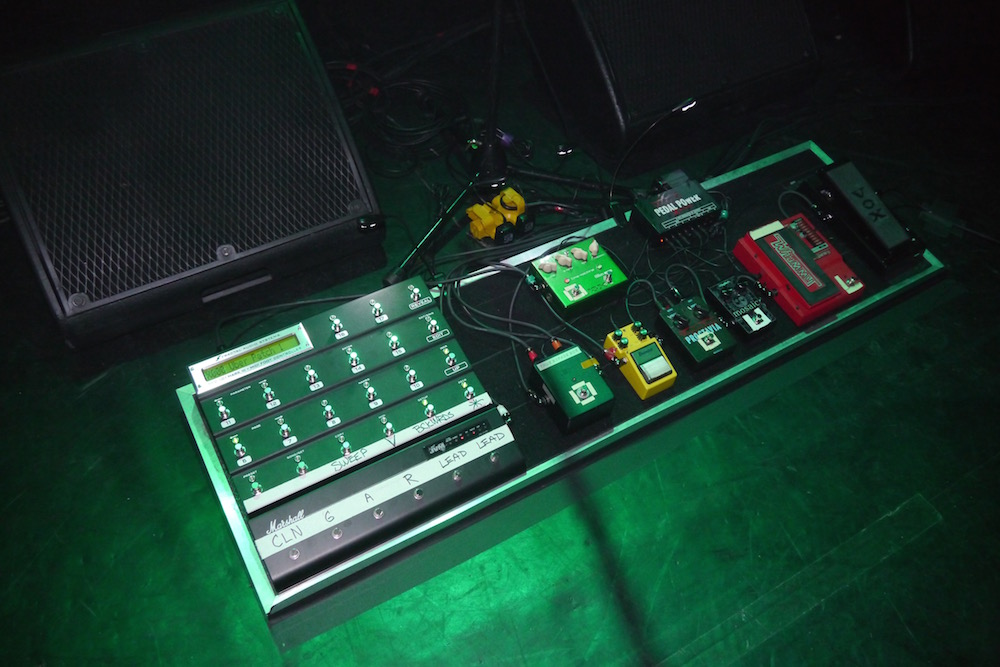Joe Satriani Pedalboard - Paris Grand Rex 2015