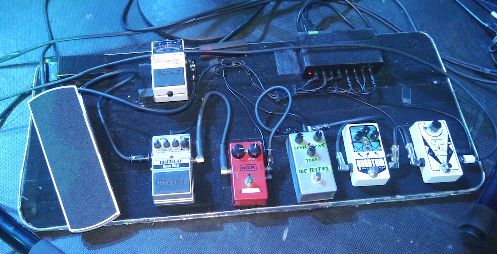 Mike Keneally Pedalboard