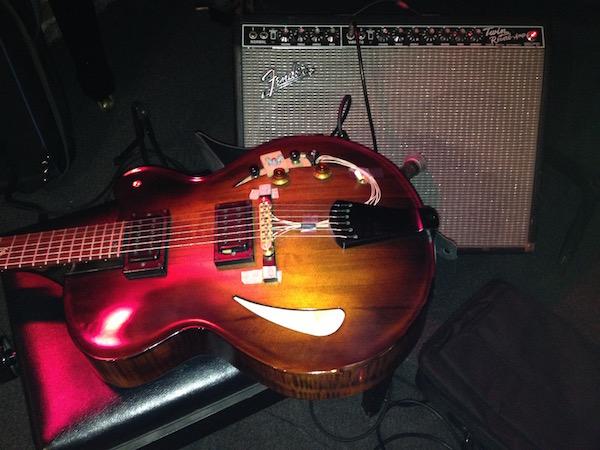La guitare Victor Baker de Gilad Hekselman