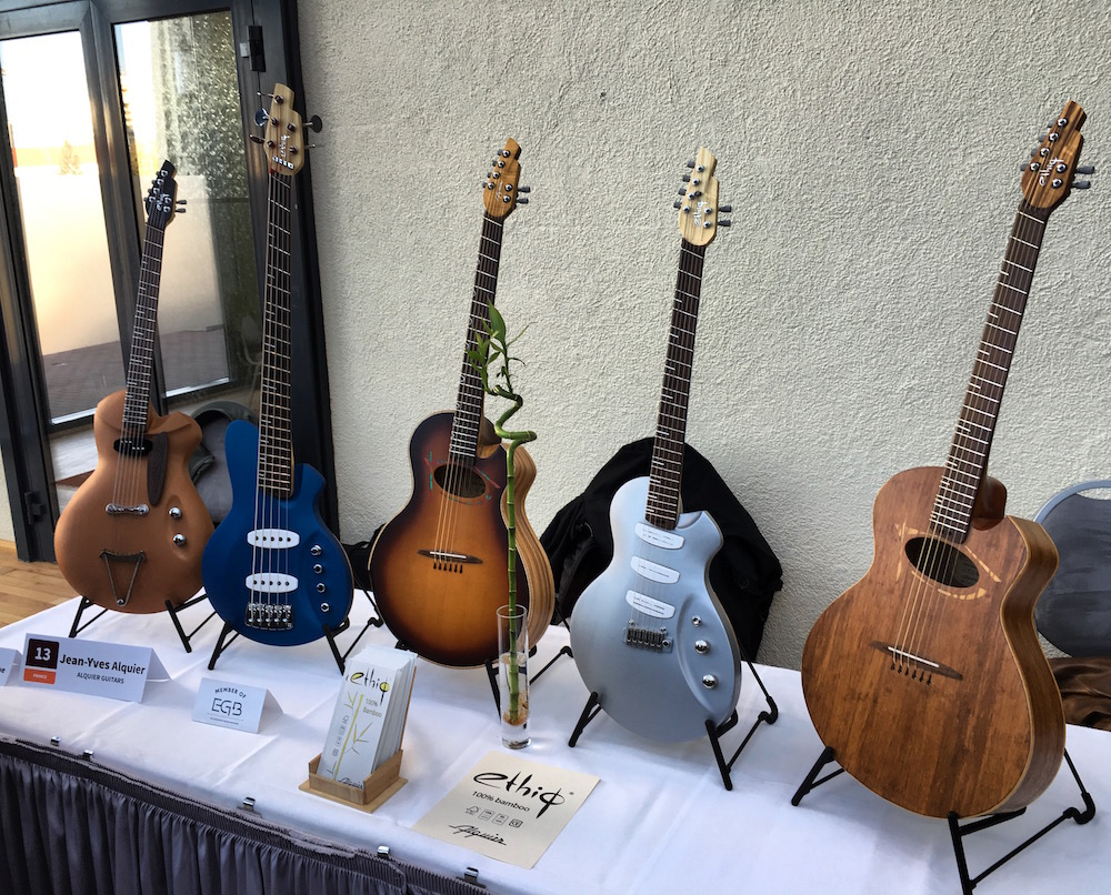 Ls instruments Ethiq Alquier présentés au Holy Grail Guitar Show 2015