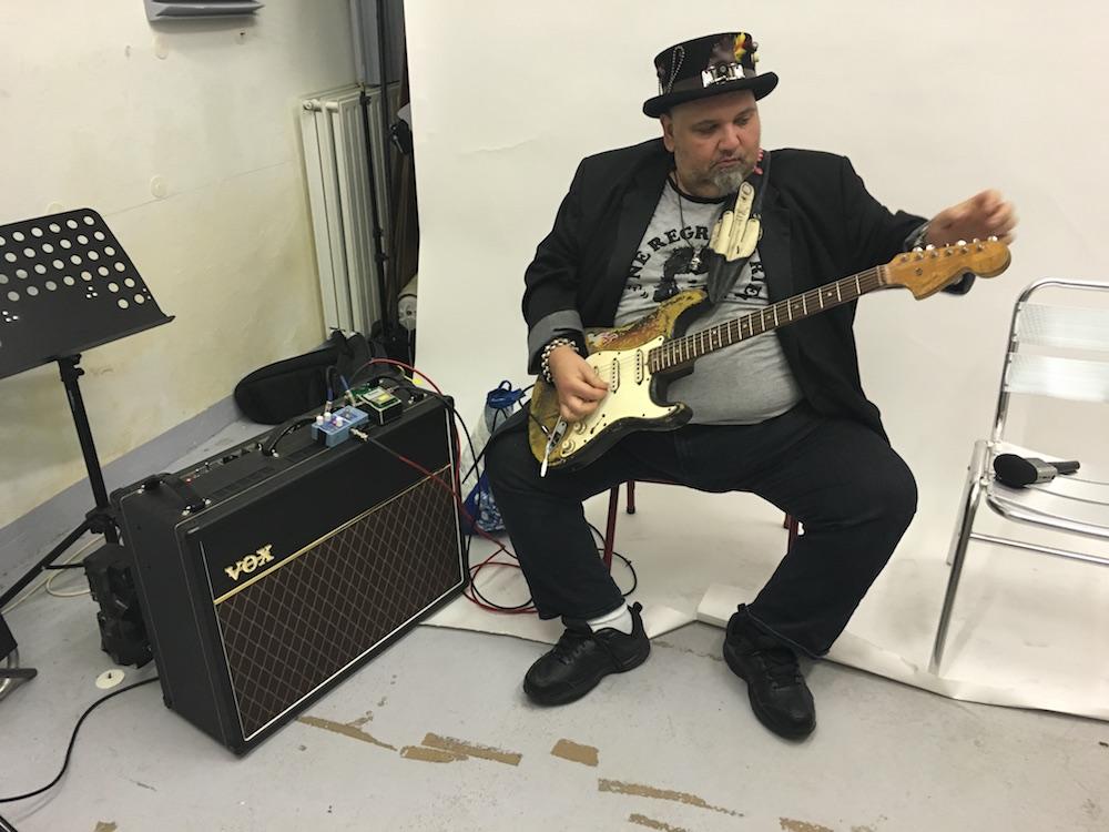 Popa Chubby - Interview Guitare à la Main