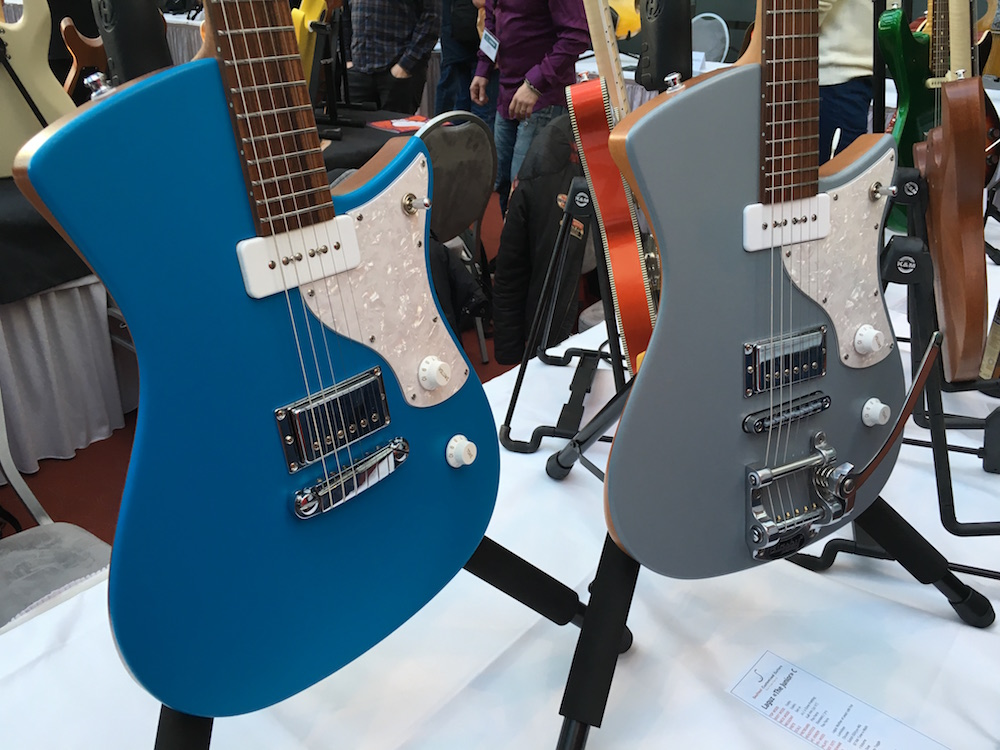 Les guitares SoulTool au Holy Grail Guitar Show 2015