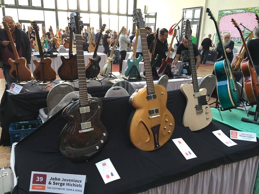 Luthiers Holy Grail Guitar Show 2015 - Tao Guitars - Holy Grail Guitar Show 2015