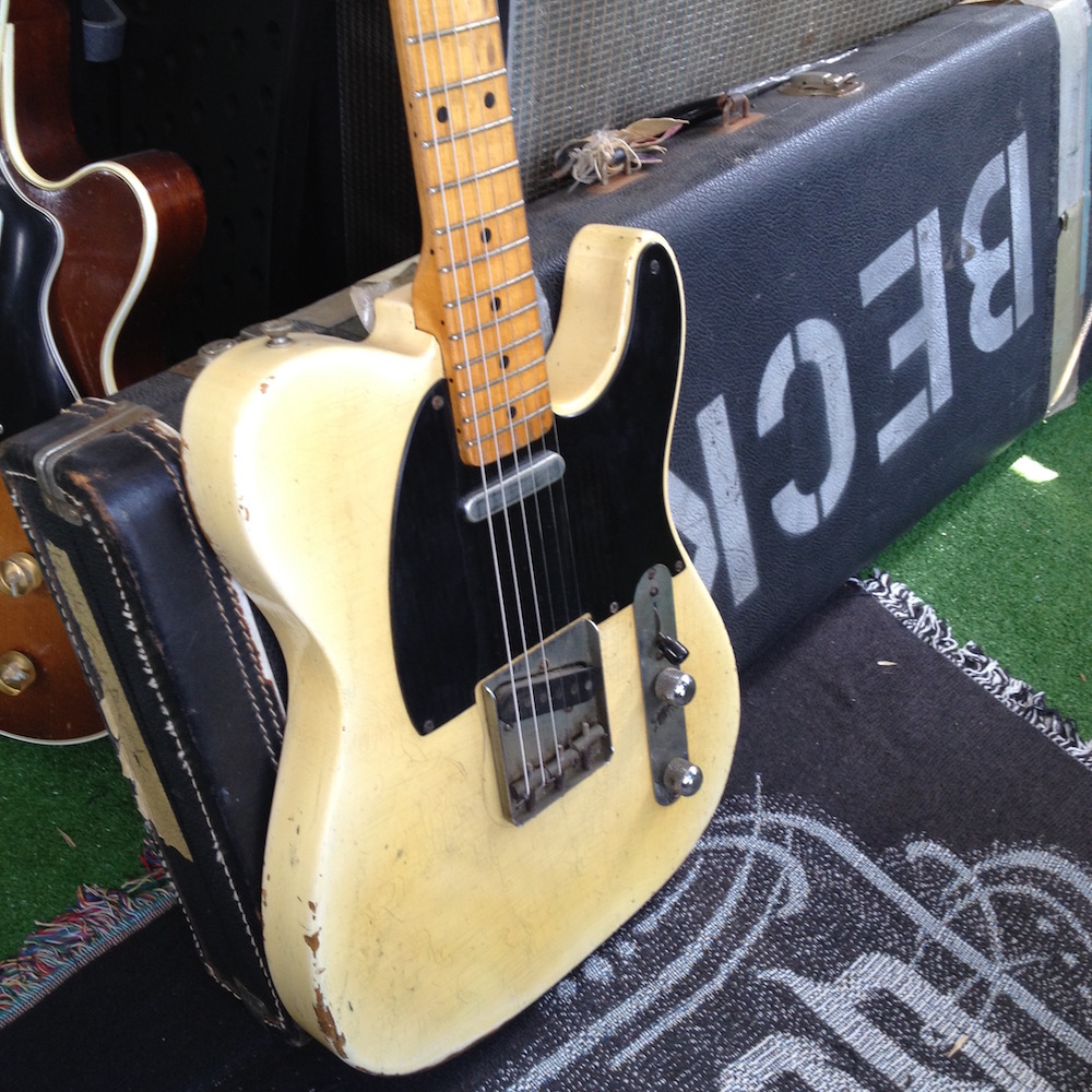 Telecaster Jeff Beck 1951 - Collecion Laurent Picciotto