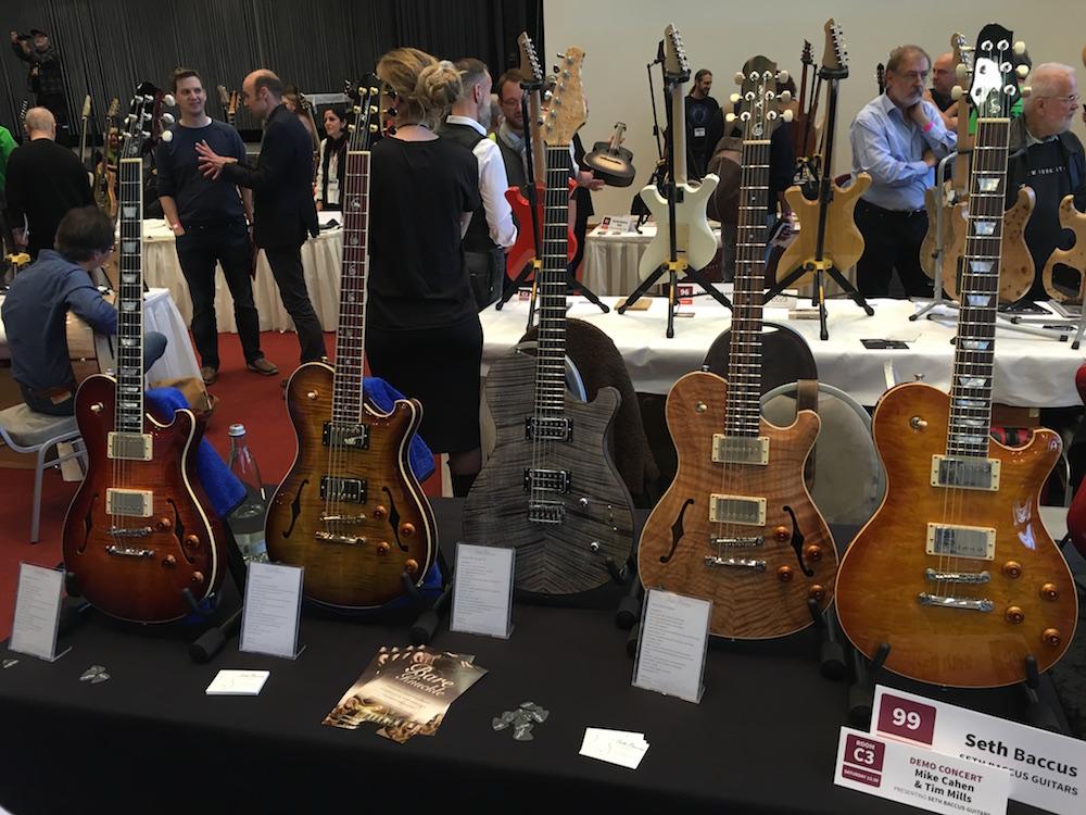 Les guitares de Seth Baccus