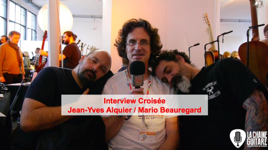 Guitare Skype : interview croisée des luthiers Jean-Yves Alquier et Mario Beauregard