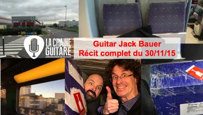 Le jour où j'ai été Guitar Jack Bauer pour Mario Beauregard et Jean-Yves Alquier