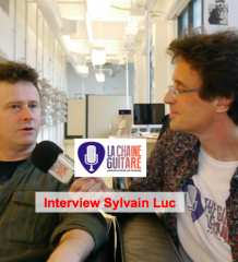 Sylvain Luc en interview au Festival de Jazz de Montréal