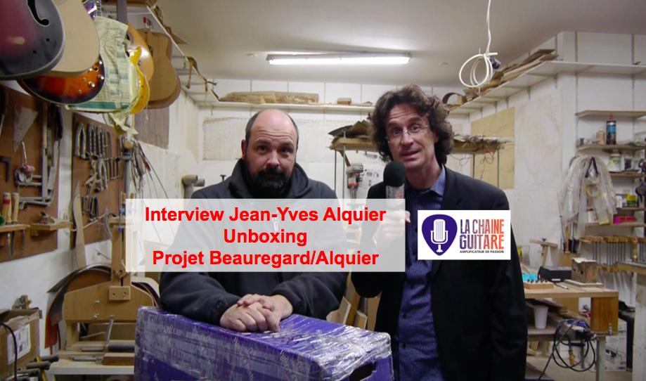 Skype guitar unboxing : projet des luthiers Mario Beauregard et Jan-Yves Alquier