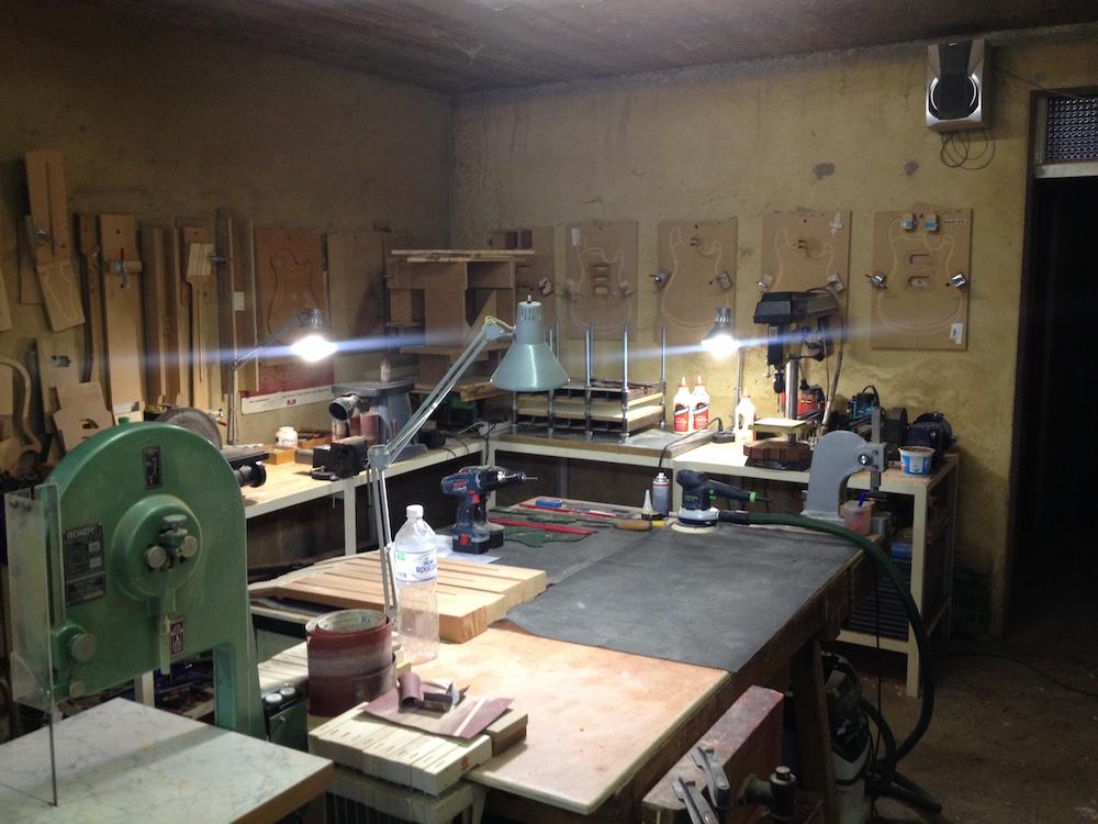 Atelier du luthier Mikaël Springer