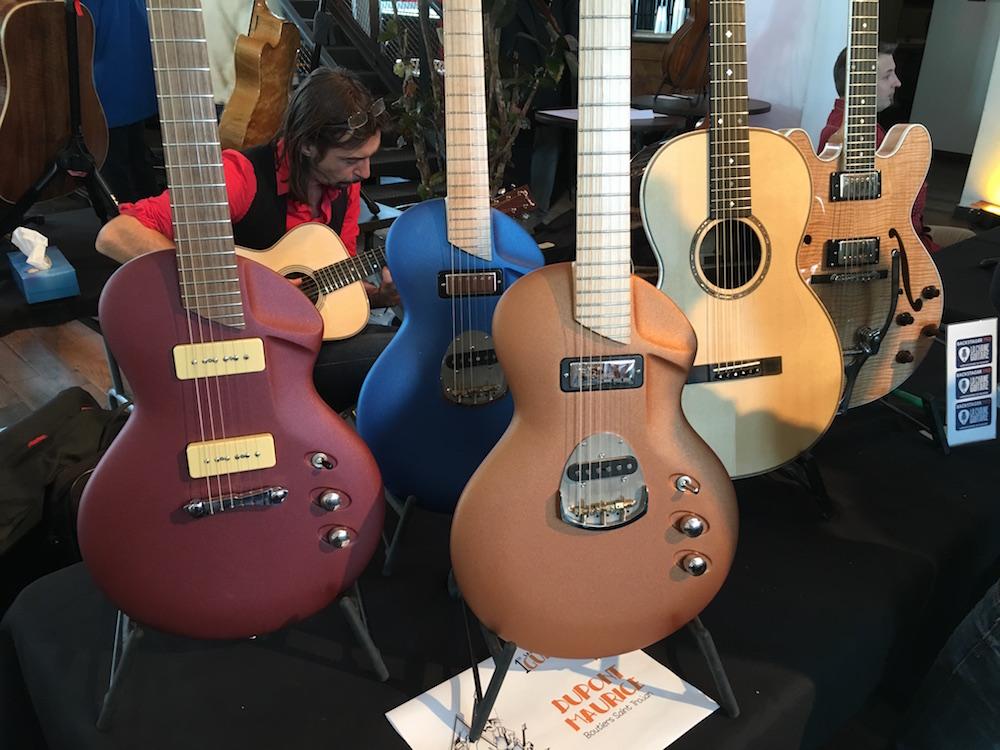 Guitares de Maurice Dupont - Salon de la Bellevilloise 2015