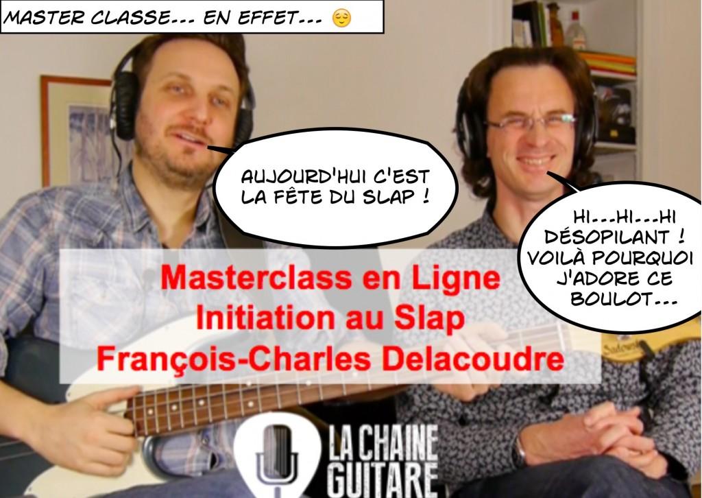 Cartoon FredC Masterclass François C; Delacoudre - La Fête du Slap