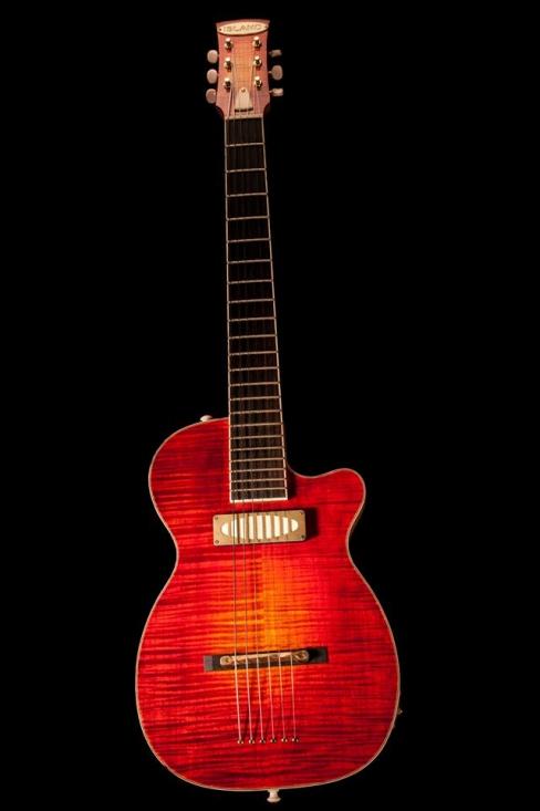 Guitare Nicolas Delisle - Island