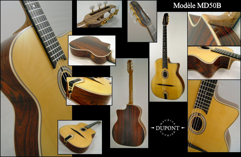 Guitare luthier Maurice Dupont