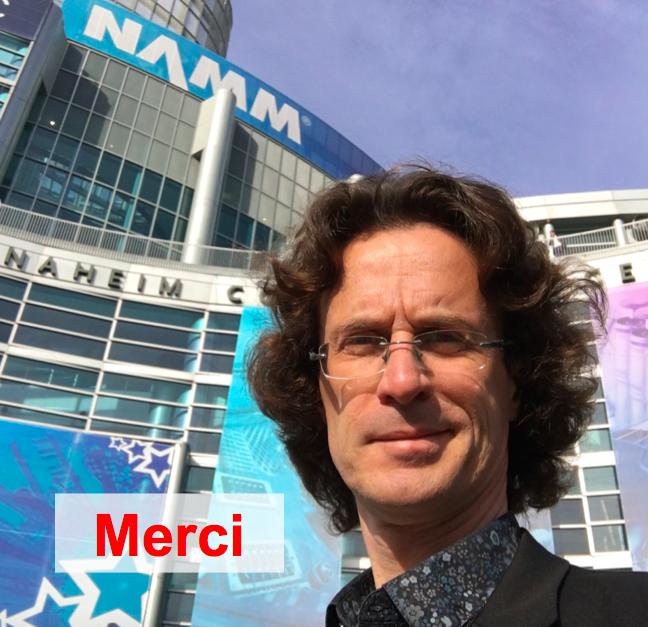 Couverture NAMM 2016 100% financée par les backstagers