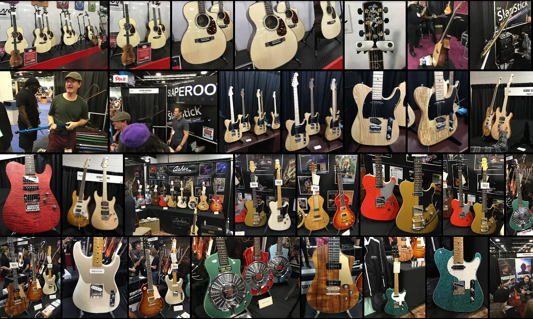 Mosaique NAMM 2016 Day 3