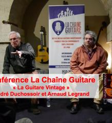 Conférence guitare Vintage Série L - Duchossoir et Legrand