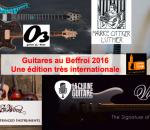 Guitares au Beffroi 2016 : une édition qui s'annonce internationale