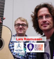Interview Lars Rasmussen, luthier au Holy Grai lGuitar show