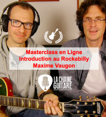 Introduction au Rockabilly par Maxime Vaugon - Masterclass en Ligne