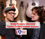 Master builder Taylor - Interview Andy Powers